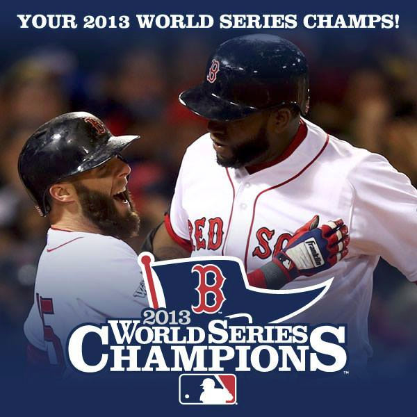 Boston Red Sox win the 2013 World Series over the St. Louis Cardinals, 4 games to 2.