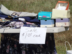 Your Boston area home spring cleaning list should include having a yard sale