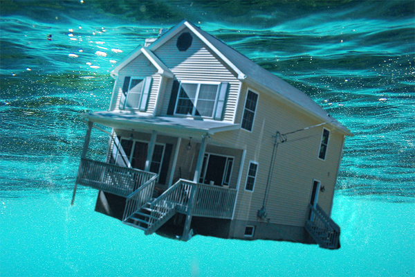 Boston area housing continues to emerge from being underwater.