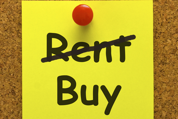 It is still cheaper to buy Boston area real estate than it is to rent