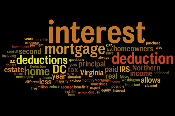 A first time Boston area home buyer can deduct mortgage interest on their taxes