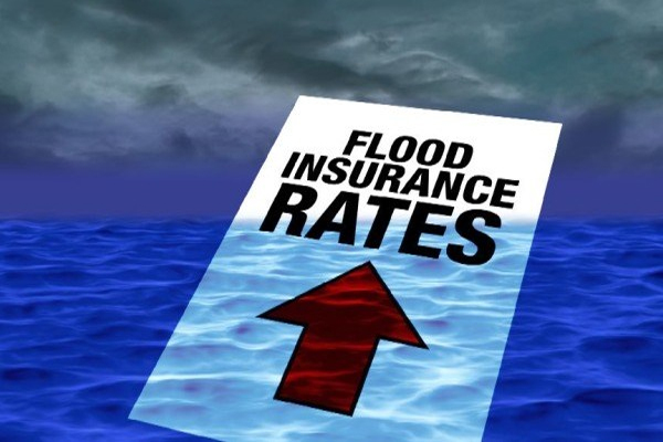 Boston area flood insurance rates went up on April 1st by as much as 25 percent for some homeowners